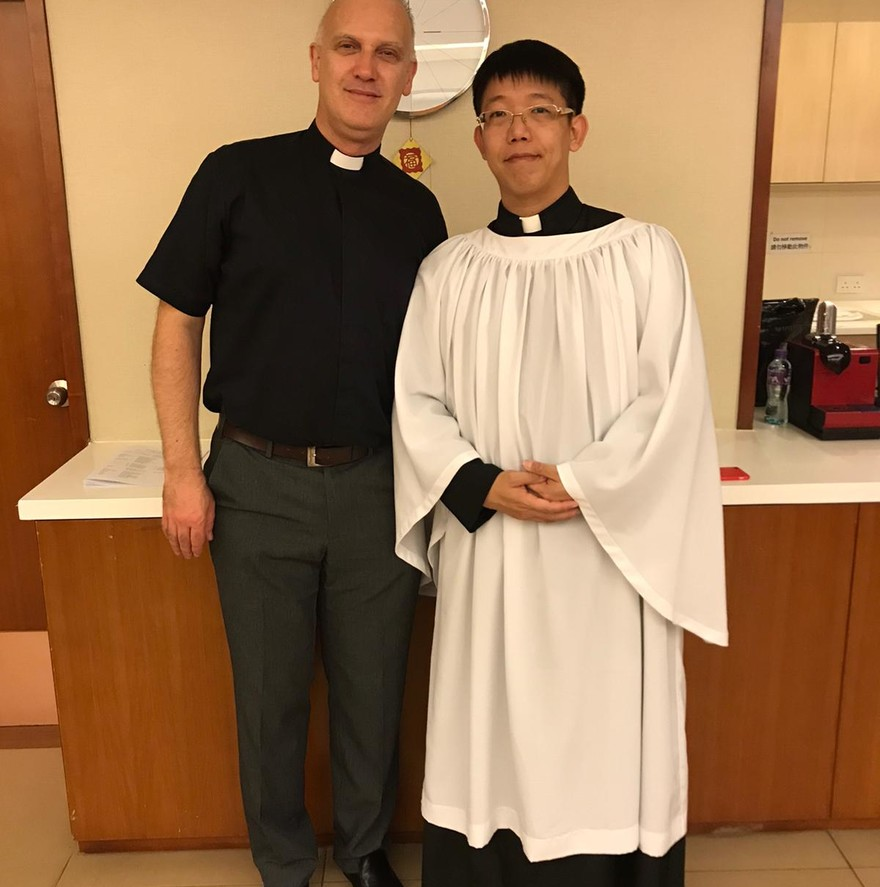 Kenneth Lo –Ordination