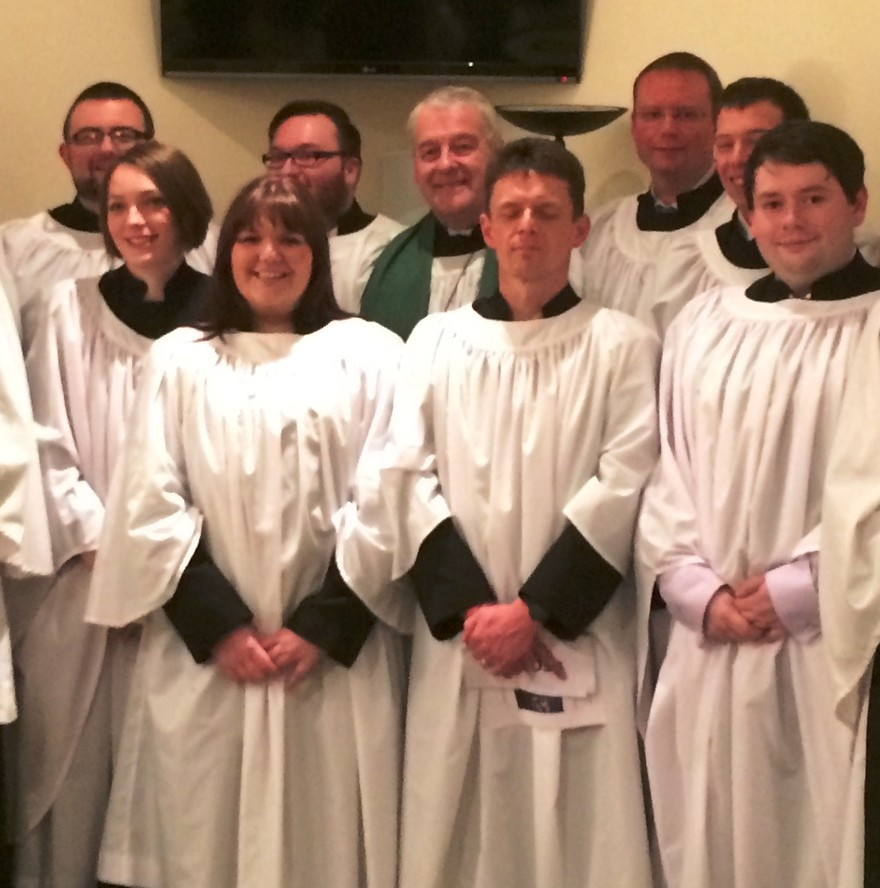 12 ordinands commissioned as student readers in CITI