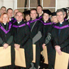 The first 15 graduates of the Master in Theology (MTh) course at the Church of Ireland Theological Institute received their degrees at the December  commencements in Trinity College Dublin.