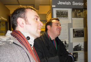 visit to irish jewish museum